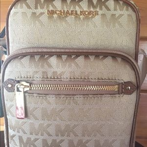 ⭐️New! Authentic Michael Kors flight bag